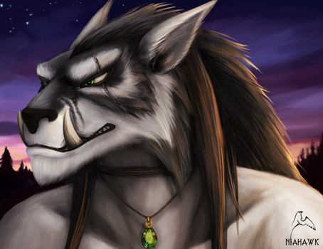 Worgen Male: Jesko by Niahawk