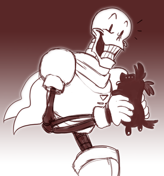 Papyrus and Alupup by Ravendyn