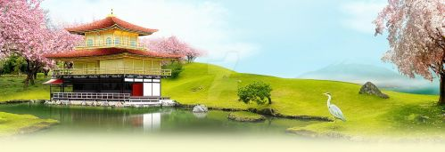Chinese Landscape by mangion