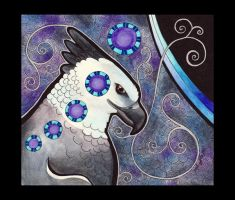 Harpy Eagle as Totem by Ravenari