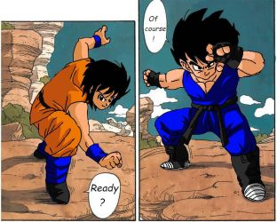 Dbz Oc': Like father Like son / daughter by caractrer-manga