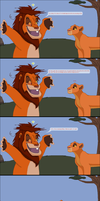 Life according to Simba by TLK-Peachii
