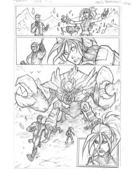 Pg 1 of Terra issue 1 by JoeyVazquez