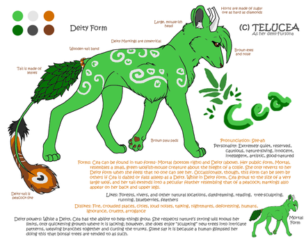Cea Reference- New Deity Form by Telucea