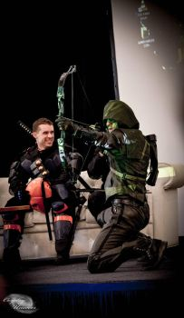 Arrow Cosplay Live Stage Show in Paris -People Con by LeonChiroCosplayArt