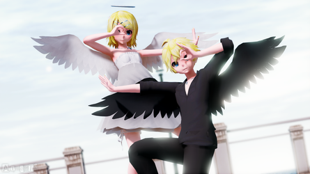 MMD Picture | Kagamine Rin and Len by NearDTH