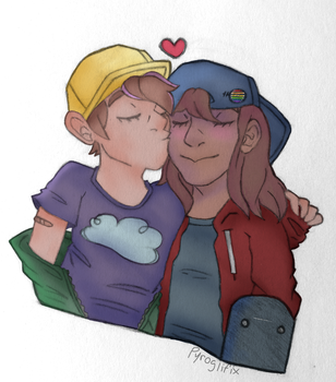 Close To You - Colourful Version by Pyroglifix