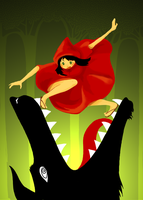 Little Red Ridding Hood by Miria696