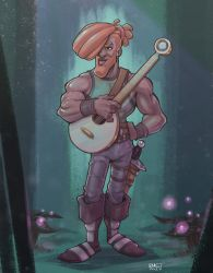 Ayden the Bard by p-r-i-a-p-u-s