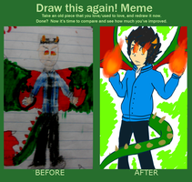 Draw This Again Meme by Mister-Pancake