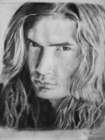 Dave Mustaine - Megadeth by mslaurnq