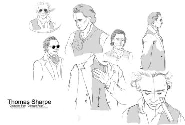 Thomas Sharpe body study. by usshak