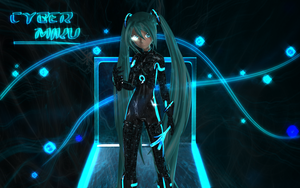 Cyber Miku Domain by Primantis