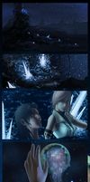 Stargazing on Gran Pulse by calicoJill