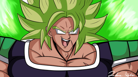 Broly by ThaMystic