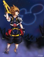 KH2 - Into the Darkness by MichaelMayne