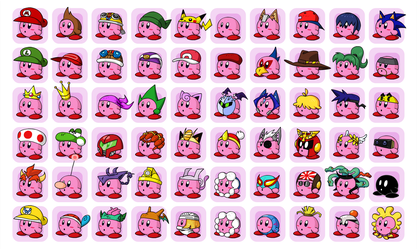 Kirby Hat Chaos by professorfandango