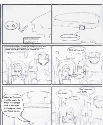Intercept and Investigate. page 1 no color by Sulkon88