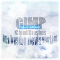 Cloud Brush for GIMP by FrostBo