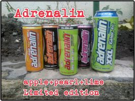 Adrenalin apple+pearl+lime Limited edition  by farek18
