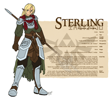 Character Guide - Sterling by foxlee