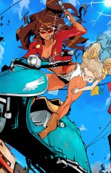 Michiko to Hatchin by OverlordJC