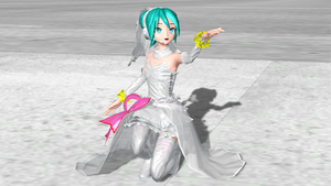 [Dreamy Theater 1st] White Dress Physics by PiettraMarinetta