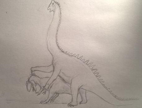 We're Gonna Move On Up To Medicine Bow [sketch] by CMIPalaeo