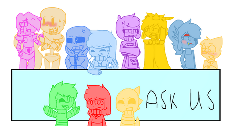 Ask Us(undertale) by rainbow223