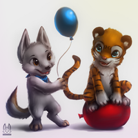 [Commission] BalloonTail by thanshuhai