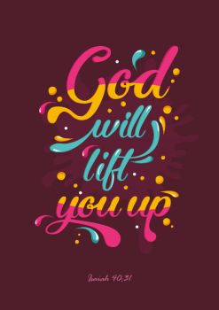 Isaiah 40:31 - Christian Poster by mostpato