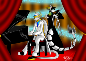 Deadly Duet by DuskDragonXIII
