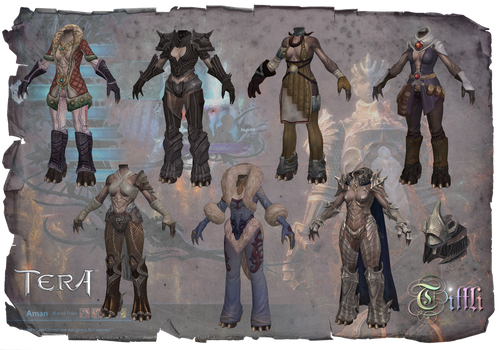 TERA Aman F NPCS by Tiffli by Tiffli