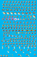 sprite sheet for turbo by TroubleWolfComics