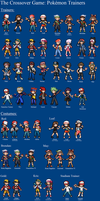 Pokemon Trainer Sprites