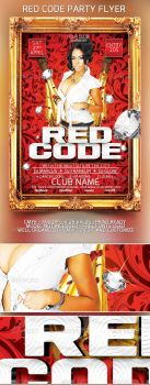 The Red Code Flyer Template by SensationPhotoworks