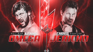 Kenny Omega vs Chris Jericho - WK 12 Custom Card by LastSurvivorY2J