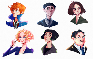 some fantastic beasts by Delfoas