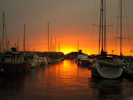Plymouth Marina by Preatorien