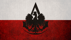 Assassin's Creed: Bureau of Poland Flag by okiir