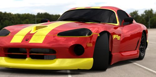 Dodge Viper Coupe 2 by TheRedCrown