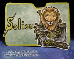Solion Conbadge Commission by Dreamspirit