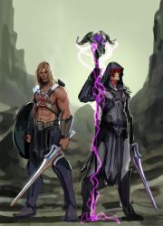 by the power of grayskull and snake mountain by nebezial