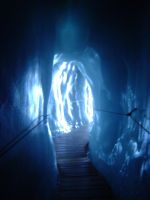 Inside a Glacier by SilverQuill