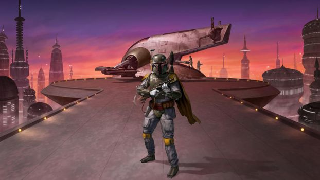 Boba Fett by R-Valle