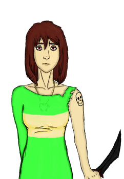 Undercide! Chara by Redspets