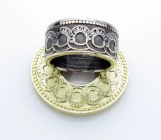 Continental Fugio Dollar Coin Ring by TCSCustoms