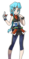 Omega Ruby Alpha Sapphire Trainer Concept by MelodyCrystel