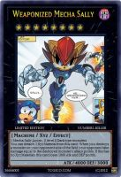Weaponized Mecha Sally card by Power1x