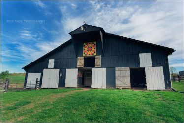 Rustic Barn with Quilt Artwork by GothicAmethyst